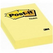 Post IT 75x75 mm galben