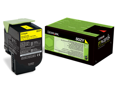 Cartus yellow Lexmark CX310 80C20Y0