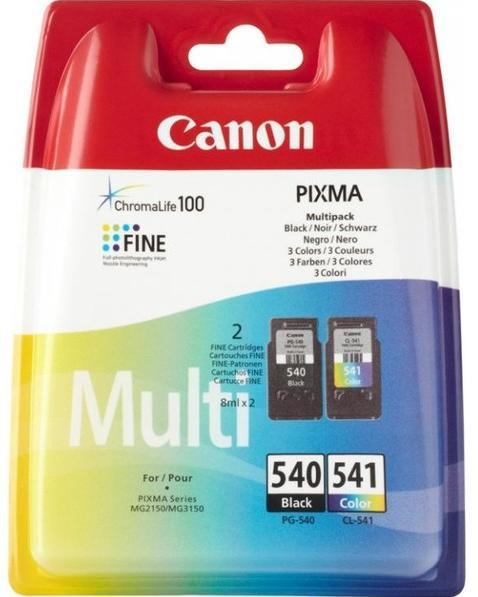 Cartus negru si cartus color Canon PG540 CL541 MG2150 3150
