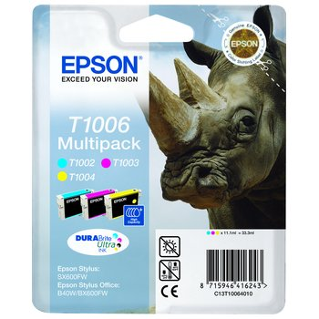 Set cartuse color Epson B40W BX600 610FW