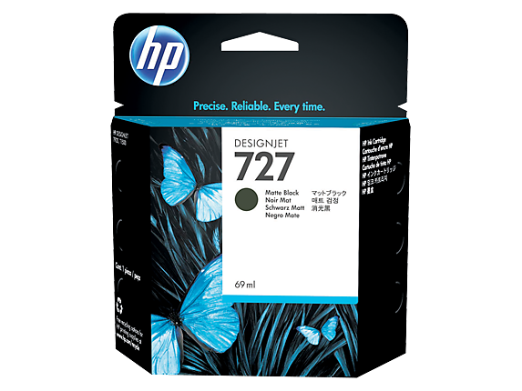 Cartus HP 727 69 ml Mate Black Ink Cartridge C1Q11A