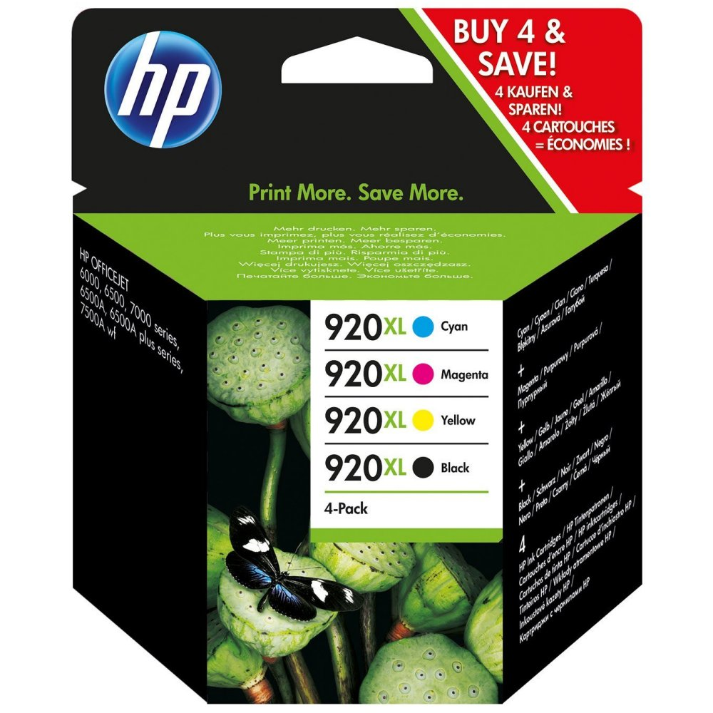 Set cartuse originale HP 920XL Officejet 6000 6500