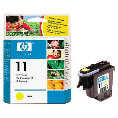 HP 11 Yellow Printhead InkJet CP1700 Business InkJet 2200, 2230