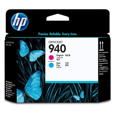 HP 940 Magenta and Cyan Officejet Printhead HP 8000 8500