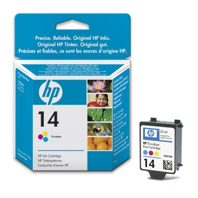 HP14 Tri-colour Ink Cartridge OfficeJet 120 135 145 155