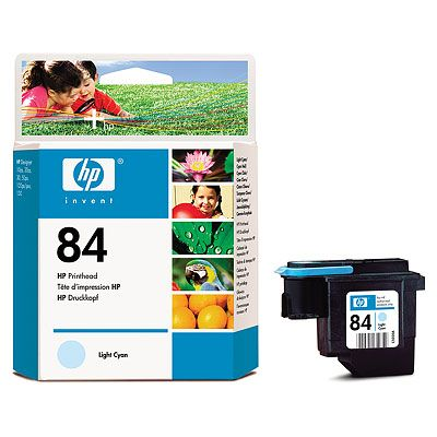 HP 84 Light Cyan Printhead, HP designjet 90