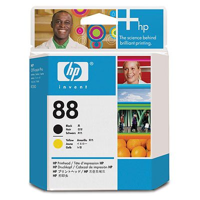 HP 88 Black and Yellow Printhead OfficeJet K550, K550dtn