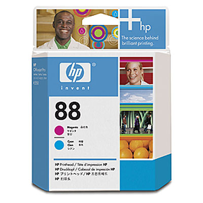 HP 88 Magenta and Cyan Printhead OfficeJet K550, K550dtn