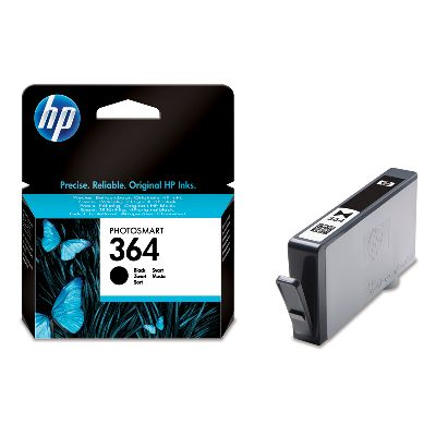 HP 364 Black Ink Cartridge Photosmart D5400