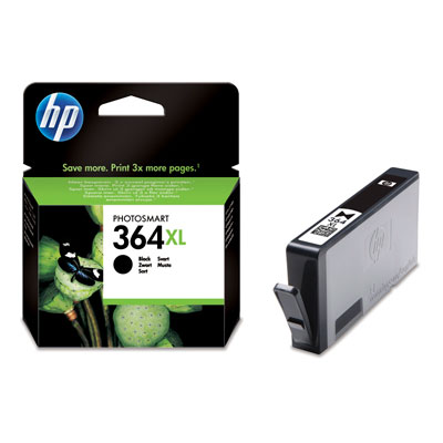 HP 364XL Black Ink Cartridge Photosmart D5400