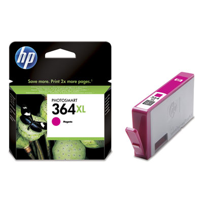 HP 364XL Magenta Ink Cartridge Photosmart D5400