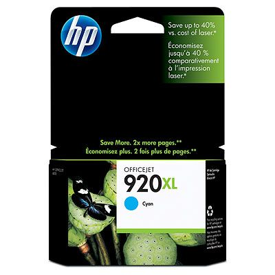 HP 920XL Cyan Officejet 6500 Ink Cartridge