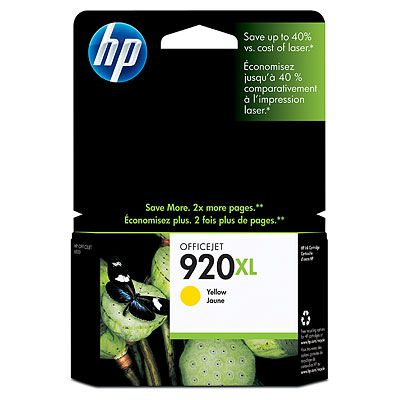 HP 920XL Yellow Officejet 6500 Ink Cartridge