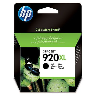 HP 920XL Black Officejet 6500 Ink Cartridge