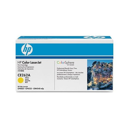 Cartus toner HP Color LaserJet CP 4025 CP 4525 CM 4540 Yellow