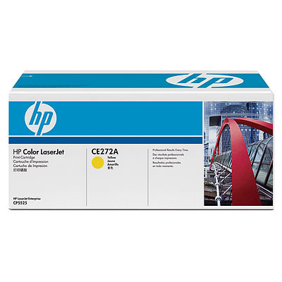 Cartus toner HP Color LaserJet CP 5525 Yellow