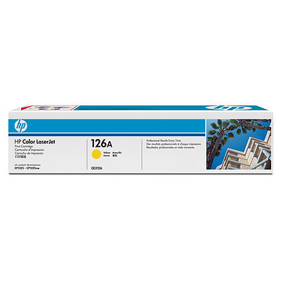 Cartus toner HP 126A Yellow LaserJet CP 1025 NW