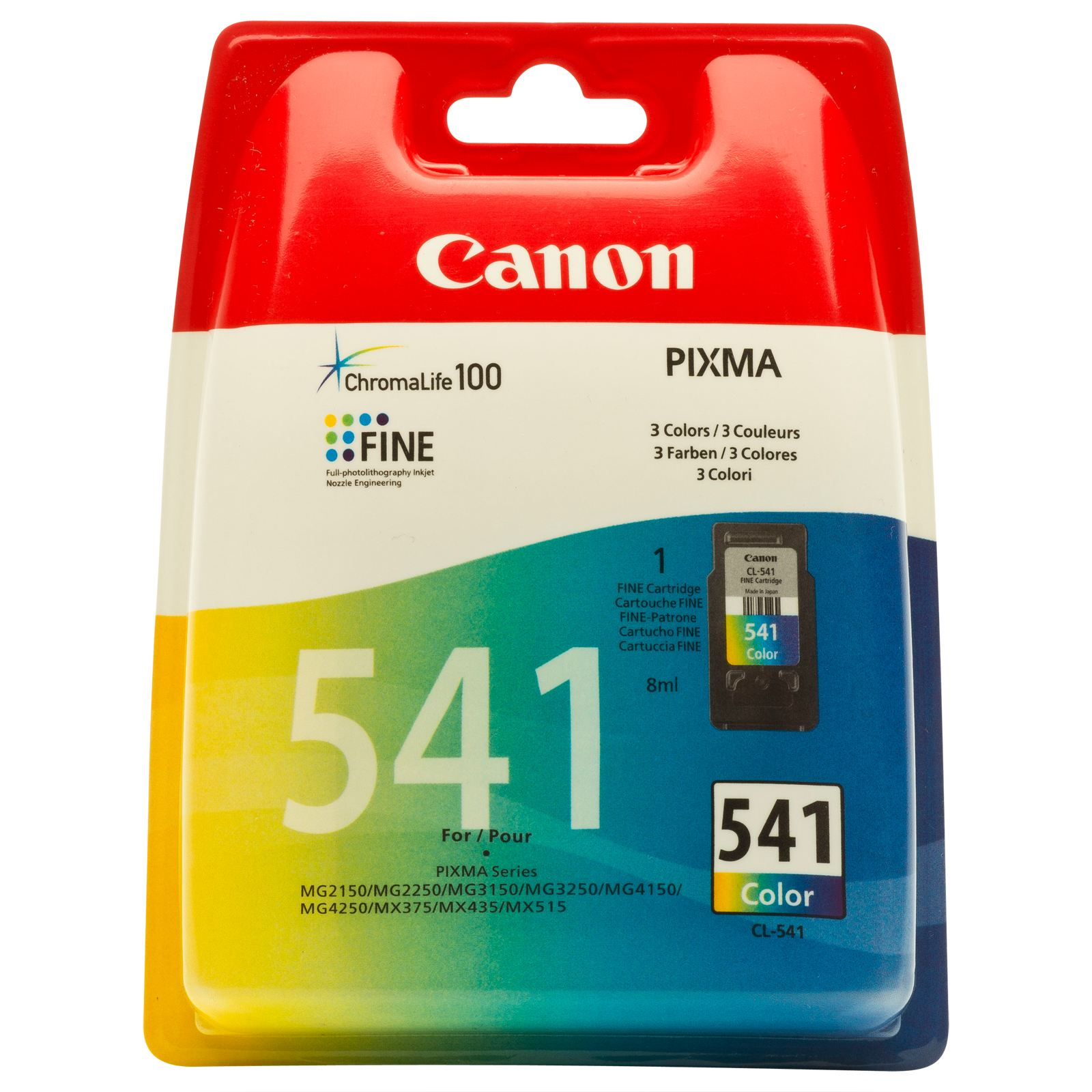 Cartus original color Canon CL541 MG2150 MG3150