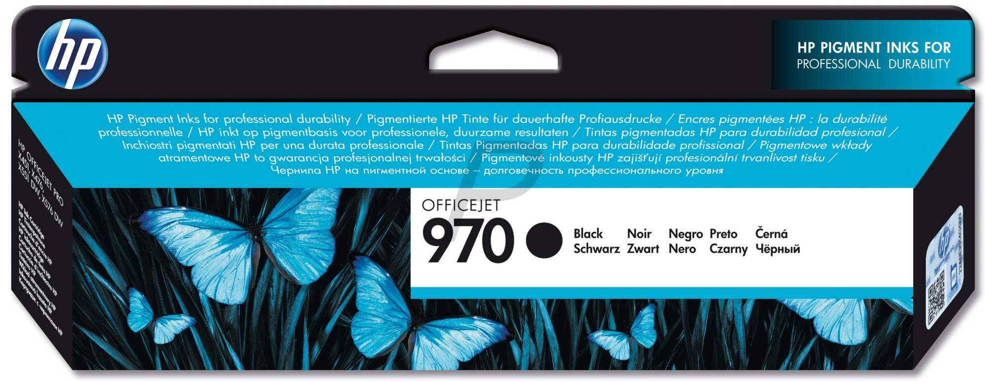 Cartus original negru Hp Officejet Pro X476dw X551dw 3000pag.