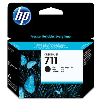 HP 711 80-ml Black Ink CartridgeDesignjet T120 T520