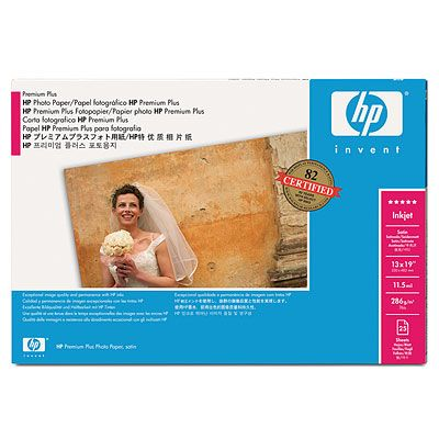 HP Premium Plus Satin Photo Paper 286 g/m²-A3+/330 mm x 483 mm-2