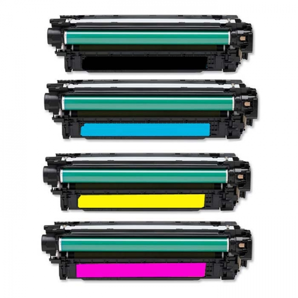 Cartus compatibil color imprimanta HP LaserJet M551, M570, M575