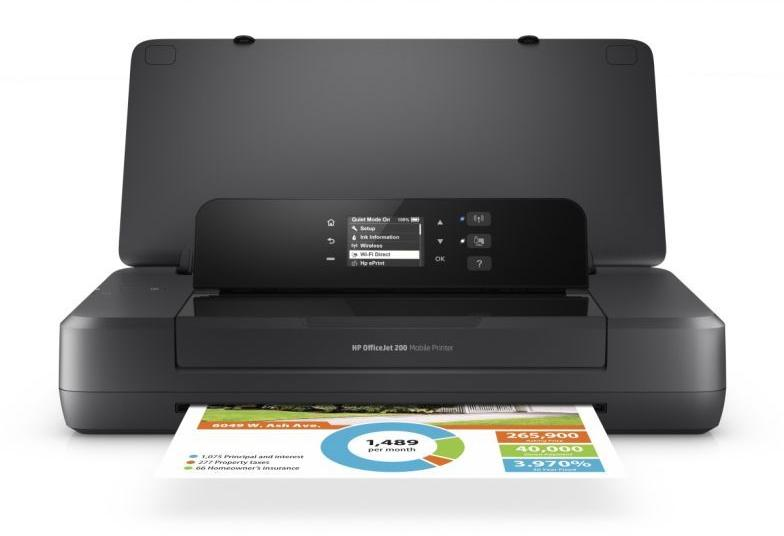 Imprimanta mobila HP OfficeJet 202