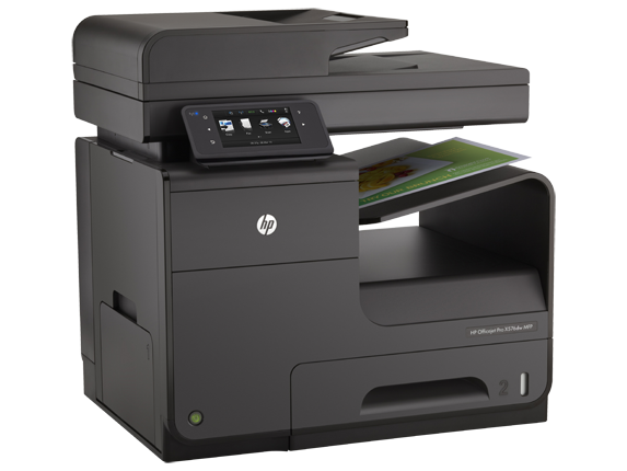 Multifunctional HP Officejet Pro X576dw inkjet color cu fax MFP