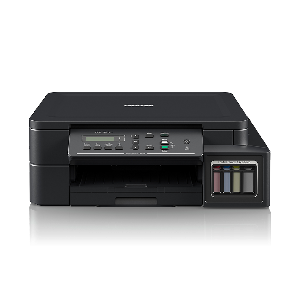 Multifunctional inkjet Brother cu ciss DCP-510W