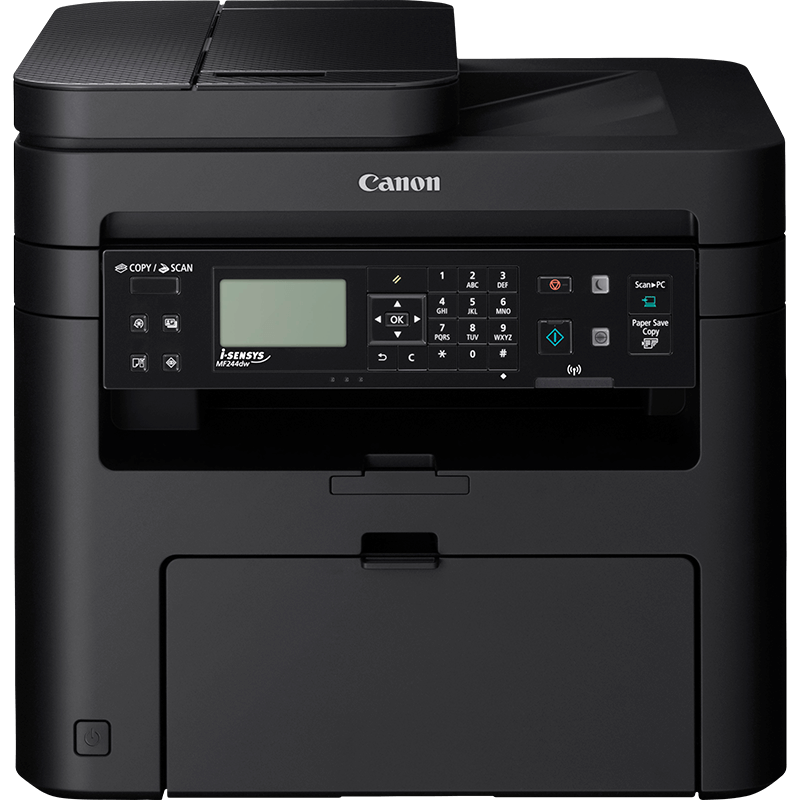 Multifunctional laser mono cu fax Canon MF244dw