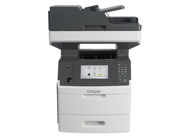 Multifunctional laser cu fax Lexmark MX710DHE A4 mono