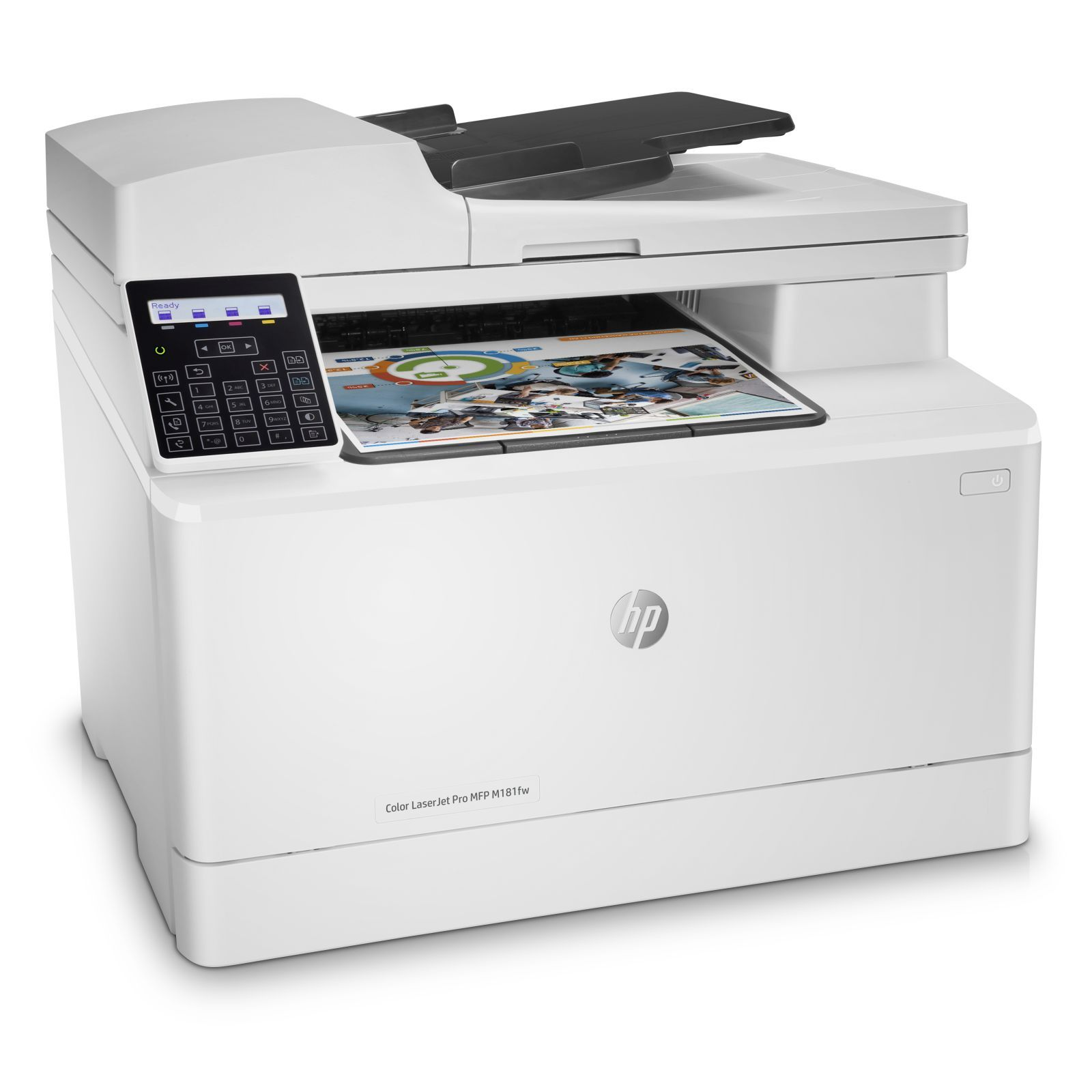 Multifunctional laser color HP Pro M181fw